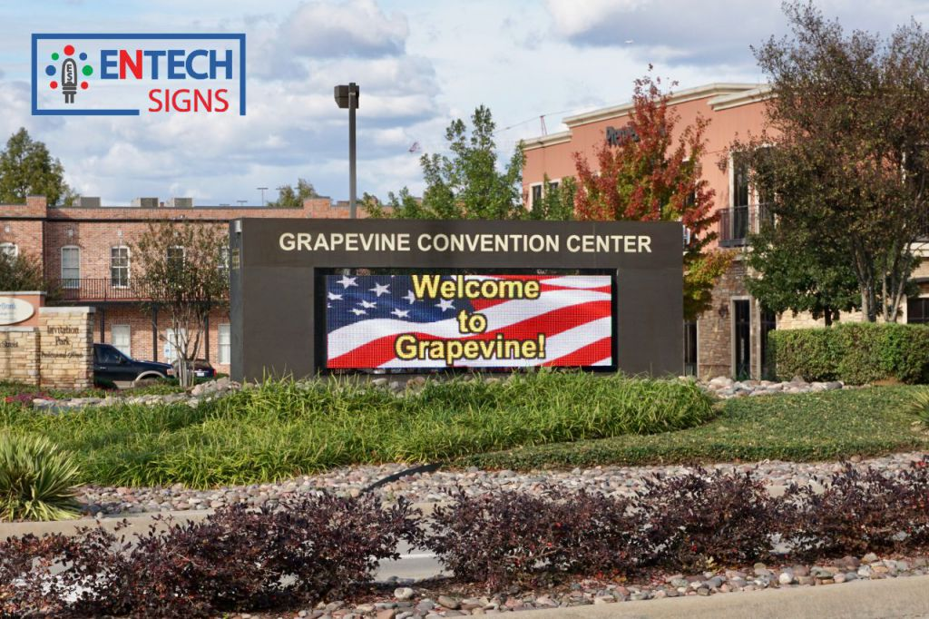 LED Signs for Convention Centers Greet Guest and Visitors!