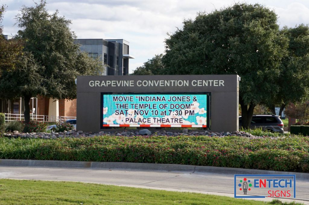 Promote Shows, Events and Available Space at Convention Centers with a LED Marquee!